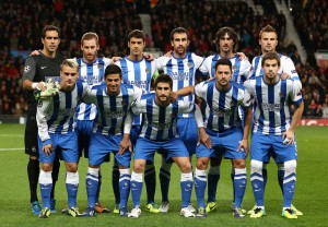 Real Sociedad team group